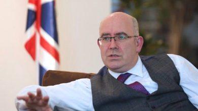 مارتن لنغدن رئيس البعثة البريطانية